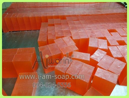 สบู่กลีเซอรีนฮั่นนี่โกลด์ Honey Gold Soap (60 กรัม) 3