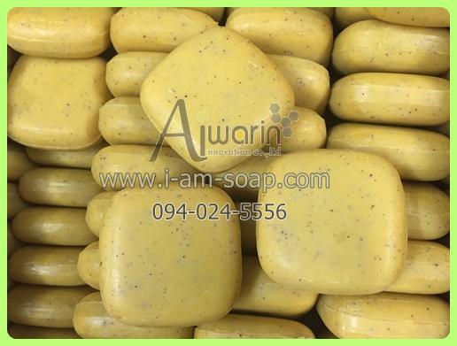 สบู่สครับสัปปะรด Pineapple Scrub Soap (100กรัม) 3