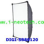 NT-SH-DIGISB80120 ซอฟท์บ็อกซ์ ขนาด 80x120 สำหรับไฟแฟลชสตูดิโอ นีโอเทค ดิจิตอลไล้ท์ รุ่น DIGI-SB80120