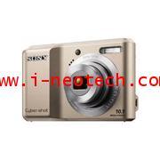 NT-SN-DSCS2000SV  กล้องดิจิตอล SONY Cyber-shot รุ่น DSC-S2000 สีเงิน 3x Optical Zoom 10.1 ล้านพิกเซล