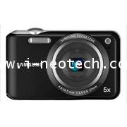 NT-SS-ES65BK  กล้องดิจิตอล SAMSUNG รุ่น ES65 สีดำ 5x Optical Zoom 10 ล้านพิกเซล