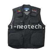 NT-PM-PV001BKE  เสื้อกั๊กถ่ายรูป NEOTECH รุ่น PV-001-BKE สีดำ