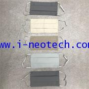NT-NV-FM2MFPE005 หน้ากากผ้า โพลีเอสเตอร์ ไมโครไฟเบอร์ 2 ชั้น (5 ผืน ต่อ แพ็ค) (1 แพ็ค นับ 1 ชิ้น)