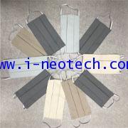 NT-NV-FM2MFPE010 หน้ากากผ้า โพลีเอสเตอร์ ไมโครไฟเบอร์ 2 ชั้น (10 ผืน ต่อ แพ็ค) (1 แพ็ค นับ 1 ชิ้น)