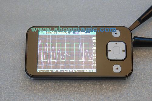 Portable Digital Storage Oscilloscope 1 MHz