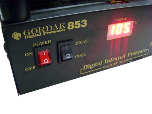 เครื่องถอดเปลี่ยนไอซี GORDAK 853  BGA Rework ขนาด 650 watt