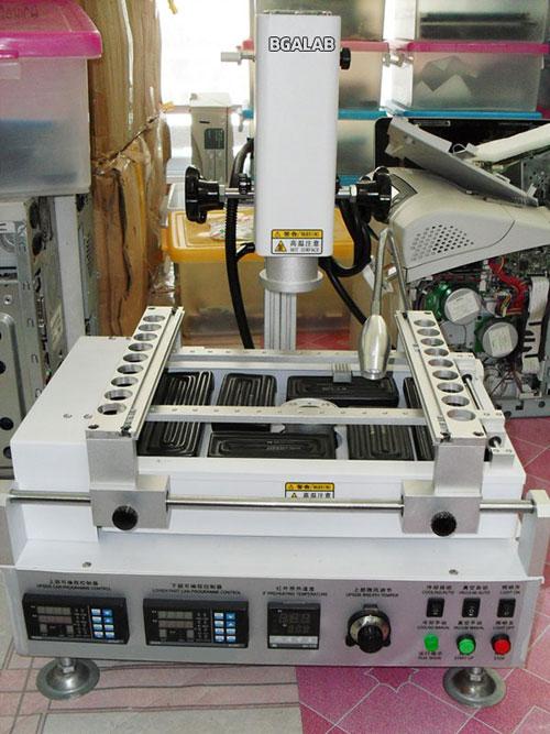 เครื่องถอดชิพไอซี BGA REWORK B3800W เครื่องถอดชิพไอซี BGA REWORK 3800Watt แบบ 3 ชุดความร้อน