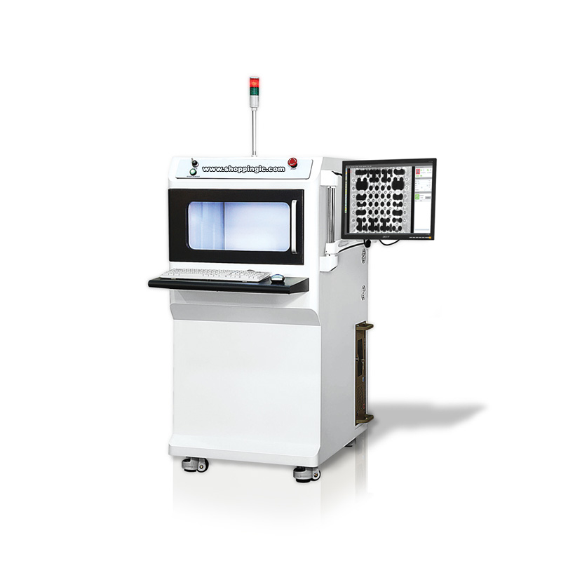 """Standard features of the X1000 X-Ray Inspection System include; A 2""""x2"""" digital flat panel x-ray det"""