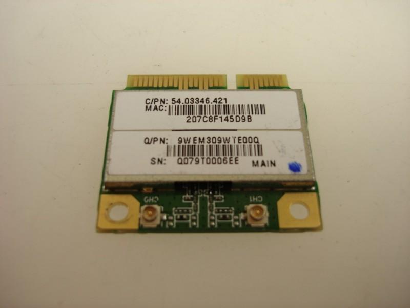 Acer 54.03346.421 Gigabit 802.11b/g Half Height Wireless Mini PCI Card.