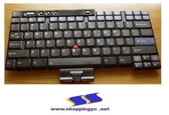 Keyboard Notebook - IBM R40