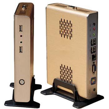 ATOM MINI PC COMPUTER OFFICE STATION Intel 1.8GHz  memery 1 GB Hard Disk 8 GB