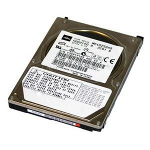 40 GB. (NB-IDE) Toshiba (8MB., 4200 RPM)