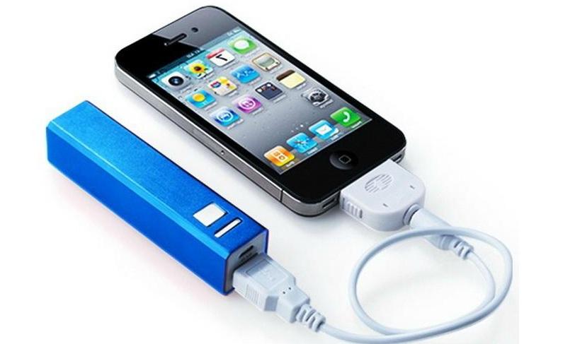 2200mAh  USB 2.0 แบตเตอรี่ สำรอง iPhone, iPad, PDA, MP4, MP5, PMP, PSP, ฯลฯ