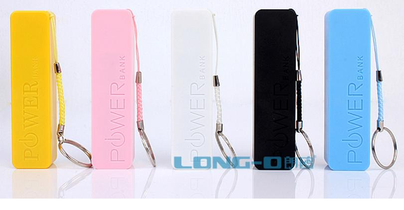 2600mAh USB 2.0 มีกลิ่นหอมในตัว แบตเตอรี่ สำรอง iPhone, iPad, PDA, MP4, MP5, PMP, PSP, ฯลฯ