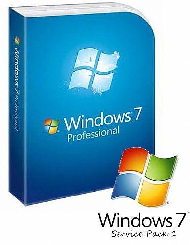Win Pro 7 SP1 64-bit English 1pk DSP OEI DVD