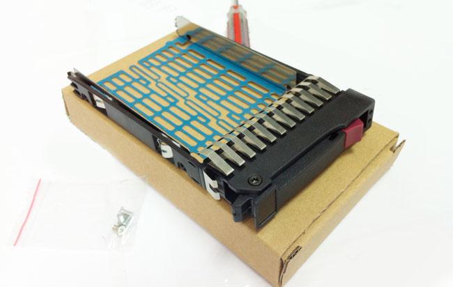 HP 378343-002 server hard disk bays 2.5-inch SAS / SATA new cartridge mounting screws