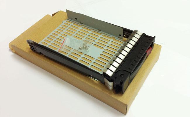 HP 373211-001 server hard disk bay SAS / SATA 3.5 new cartridge mounting screws