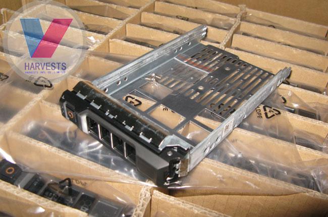 Dell Genuine DELL 3.5 SAS / SATA F238F drive bays for R710, etc.