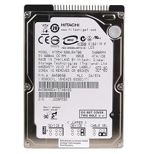 80 GB. (NB-IDE) Hitachi HTS541680J9AT00
