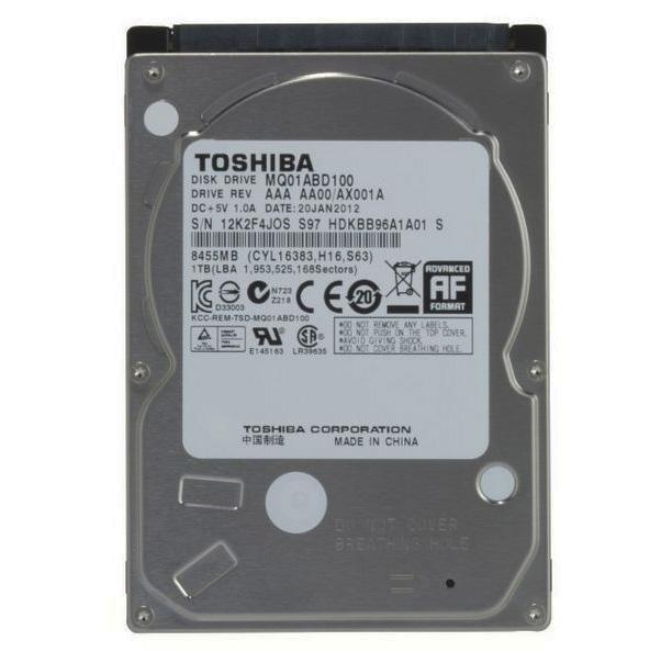 1 TB. (NB-SATA-II) Toshiba MQ01ABD100