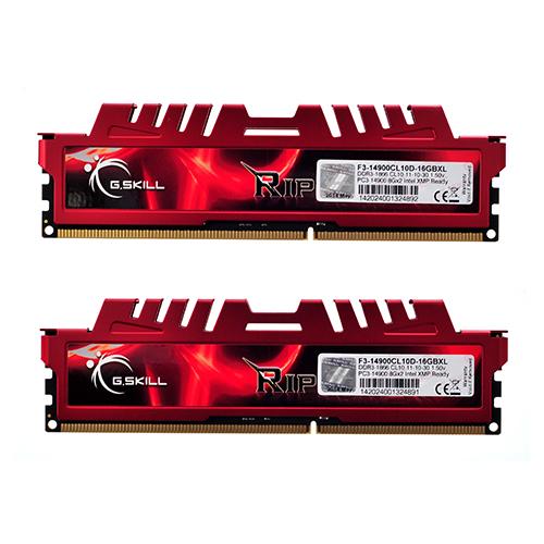 DDR3(1866) 16GB. (8GBX2) G.SKILL (CL10D-16GBXL) RipjawsX