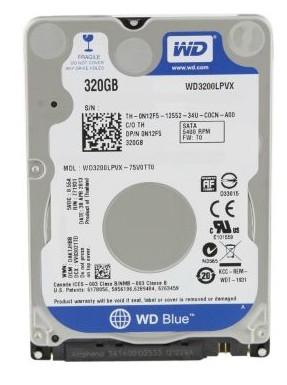 320 GB. (NB-SATA-III) Western WD3200LPVX