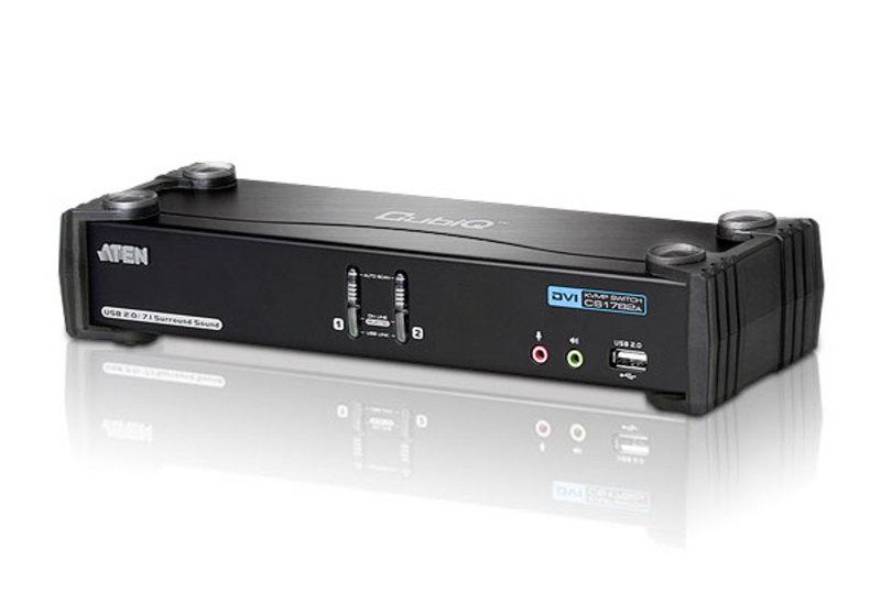 2-Port USB DVI Dual Link KVMP™ Switch
