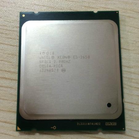 INTEL / Intel XEON E5-2650 8-core 16 thread 2.0G dual 2011CPU official version