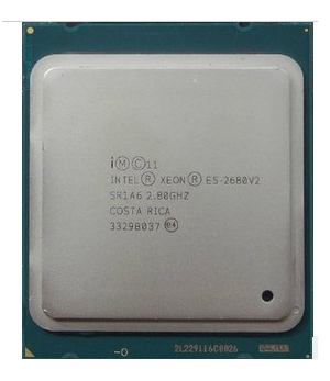 INTEL XEON E5-2680 V2 8 core 16 thread 2.8G L1 spike C0 2690 2680