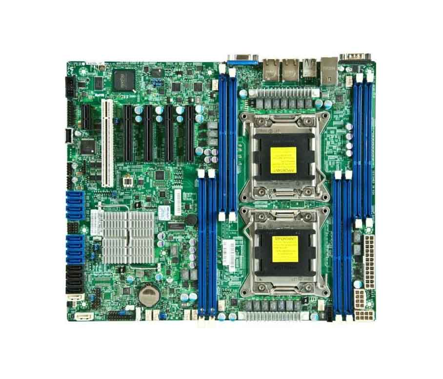 Supermicro X9DRL-3F Dual 2011-pin motherboard supports remote management server with MINI SAS ports