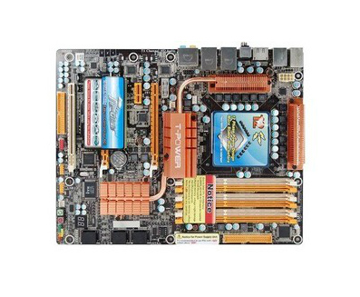 Biostar TPower X58 with heat pipes licensed disassemble board
