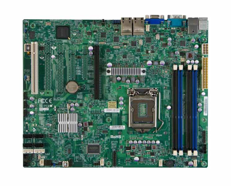 Supermicro X9SCA-F INTEL C204 chipset supports