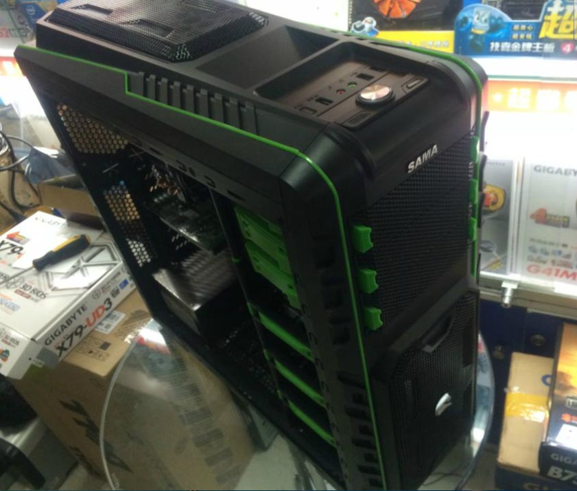 XEON E5-2650 8-core 16 thread 2.0G Gigabyte X79-UD3 8G memory game to open the host