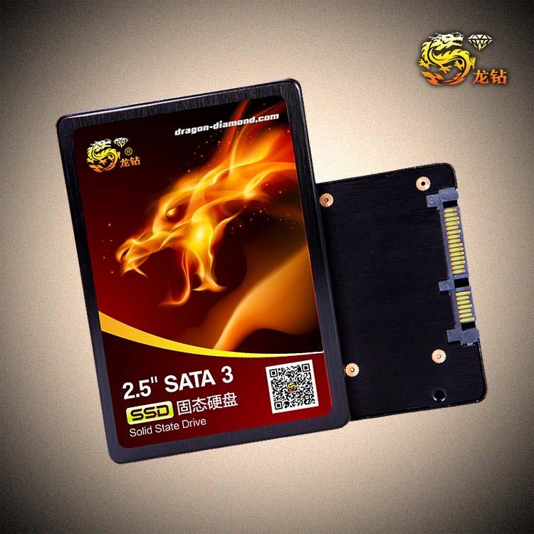 Long drill SSD D7 240G SATA3 notebook desktop spike 256G 256M cache SSDs