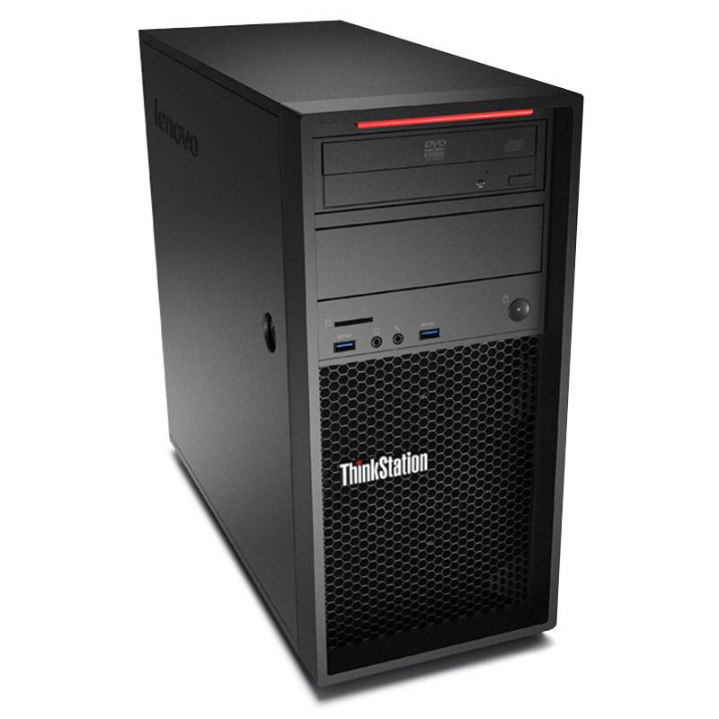 Lenovo ThinkStation P300 workstation 4-core Xeon E3-1226 V3 4G 1TB DVDRW