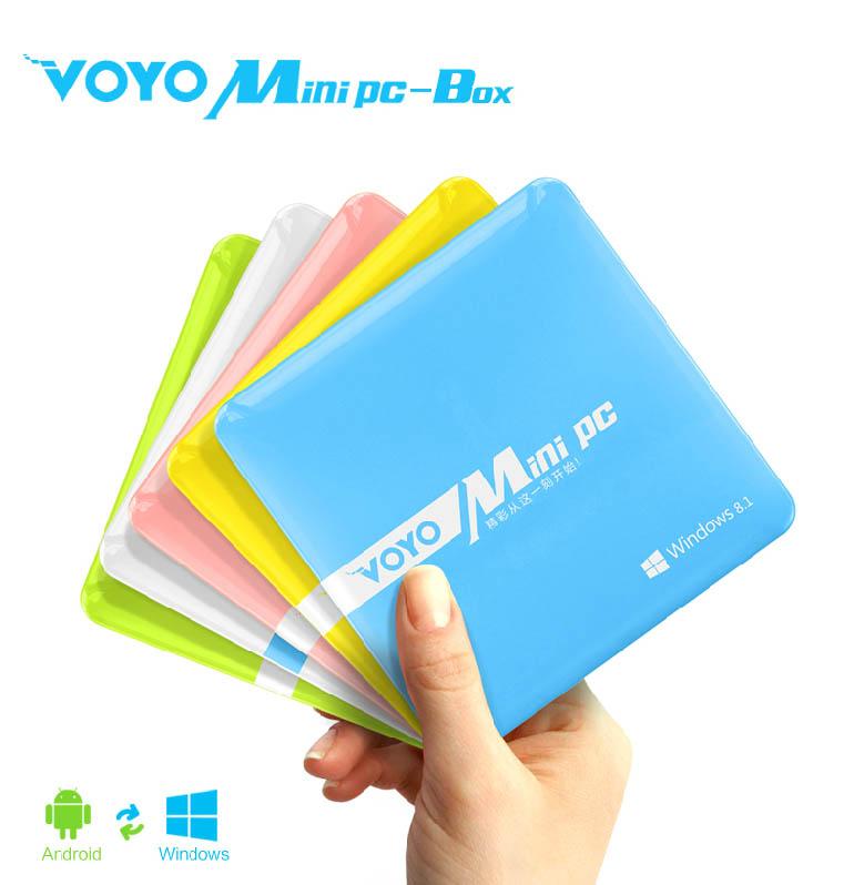 Voyo MiniPC-Box_V1 มินิคอมพิวเตอร์ ใช้ได้2ระบบ ทั้งวินโดน์8และแอนดรอยด์