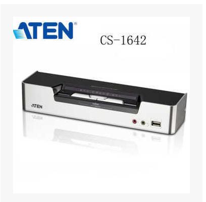 ATEN KVM Switch CS1642A 2-Port USB DVI Dual View