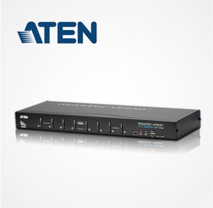 ATEN KVM Switch CS1768 8-Port USB DVI KVM Switch