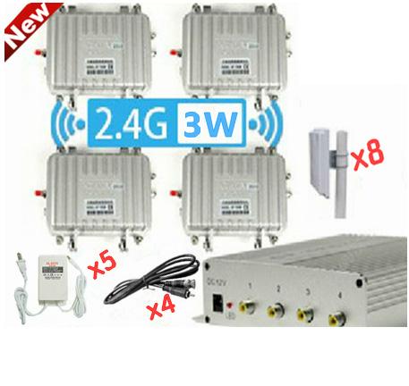 ชุดกล่องรับ-ส่งสัญญาณภาพระยะไกล 2.4G3W GF-34R6788 Receiver