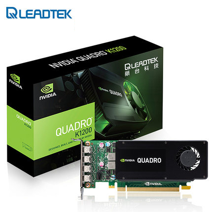 Leadtek Quadro K1200 4G SF professional graphics design graphics card 4 screen output
