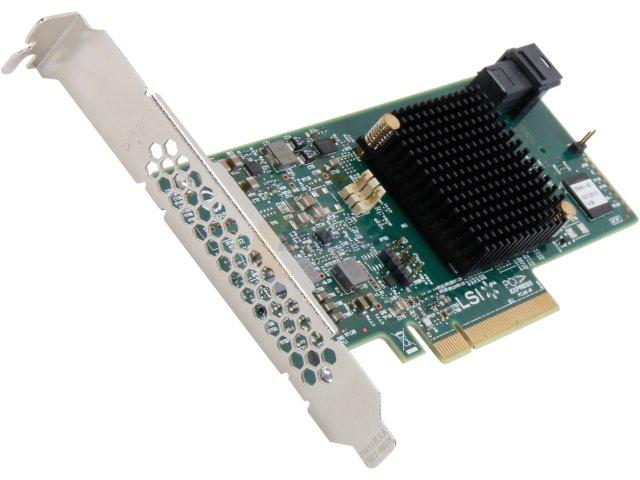 LSI MegaRAID SAS / SATA 9341-8i KIT (LSI00408) 12Gb / s New Array card