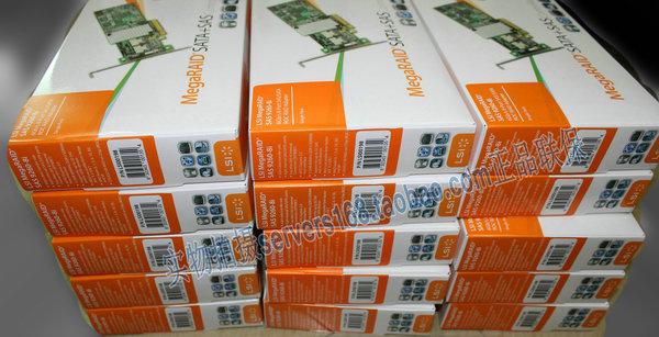 LSI MegaRAID SAS 9260-8I LSI00198 array of original color card pack 512MB cache