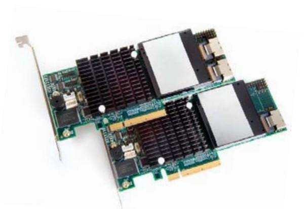 PROMISE * supertrak * EX8650 * 256MB cache * RAID6 / 5 8-bay SAS array card card