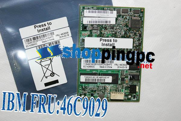 IBM ServeRAID M5100 1GB cache RAID5 R5 card upgrade module key 46c9029