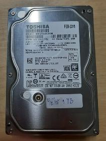 HDD Toshiba SATA 3.5 1 TB 7200-rpm