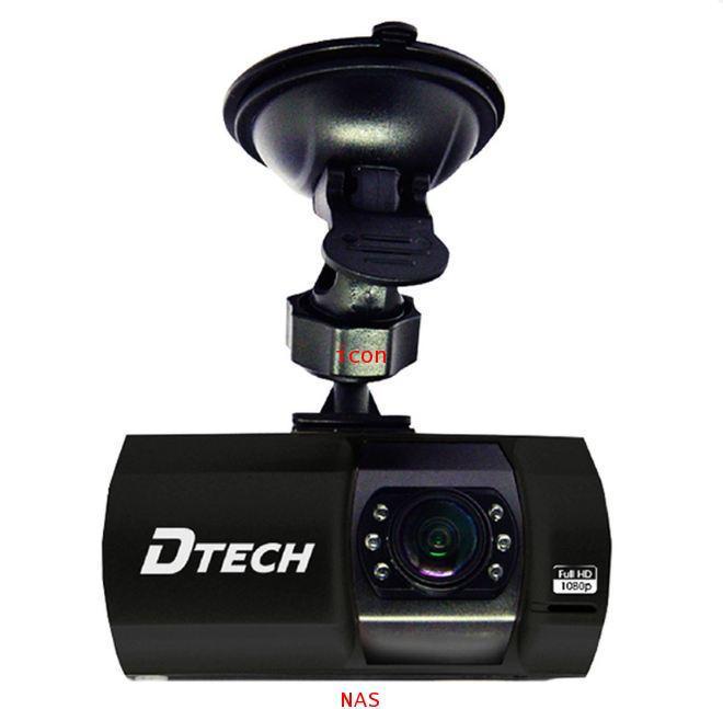 DTECH กล้องติดรถยนต์ 1080p รุ่น TCM003