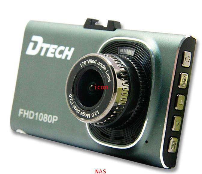 DTECH กล้องติดรถรถยนต์ รุ่น TCM106