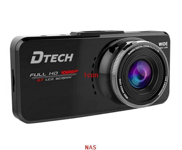 DTECH กล้องติดรถยนต์ DTECH TCM023 FullHD