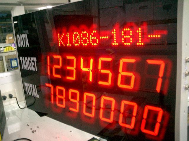ป้ายดิจิตอลงานผลิต-นาฬิกา-เครื่องวัด LED
