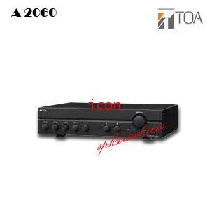 แอมป์ขยายเสียงระบบประกาศ TOA A-2060